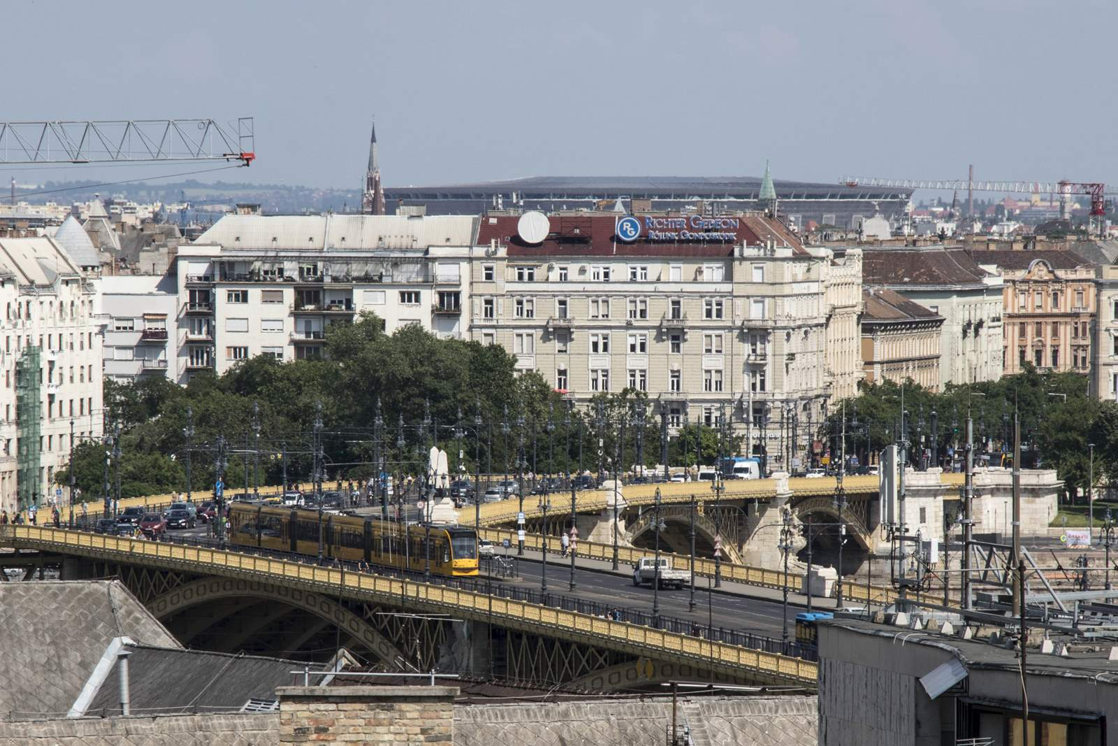 Margit híd forgalom budapest
