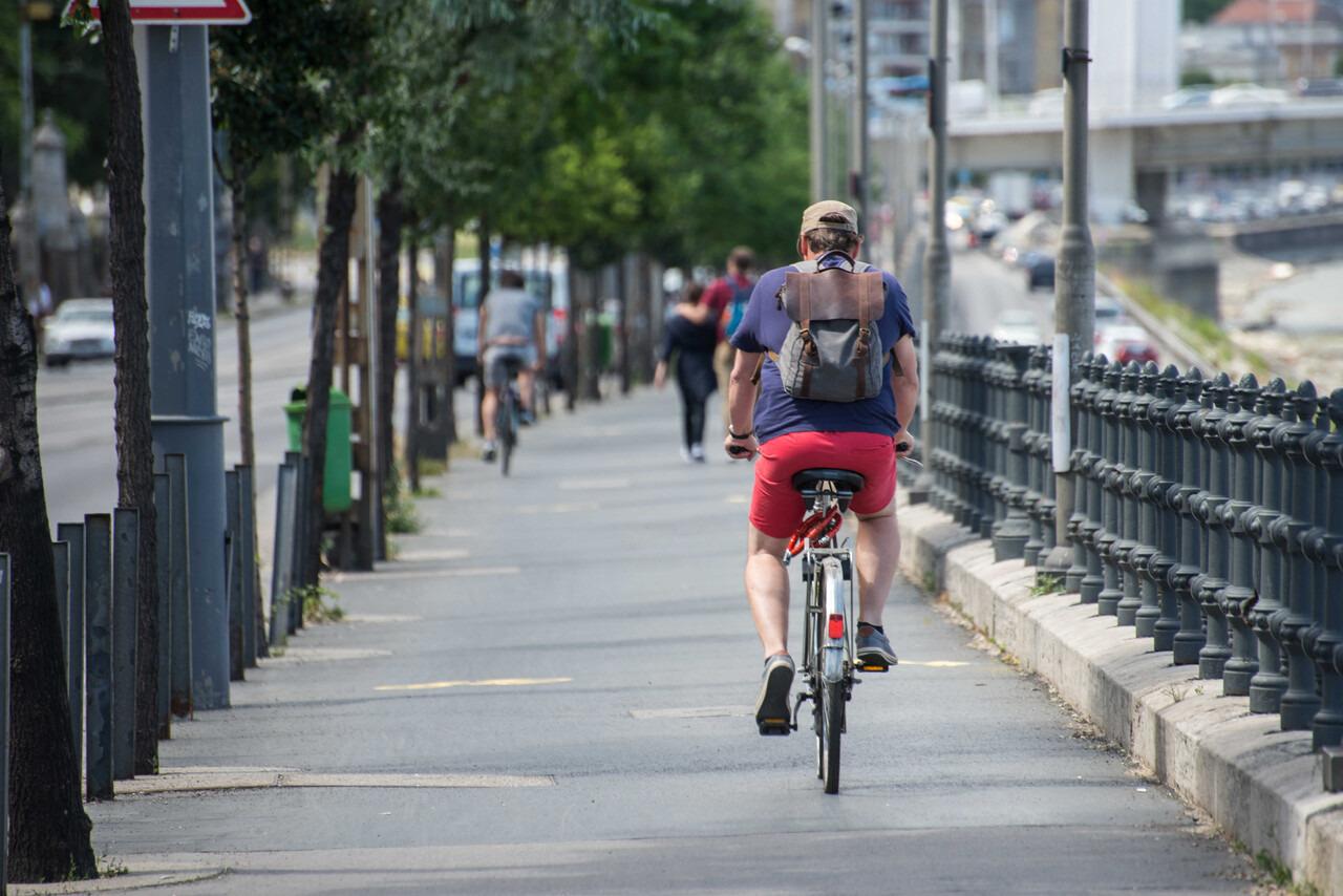 kerékpár bicikli kerékpárút budapest