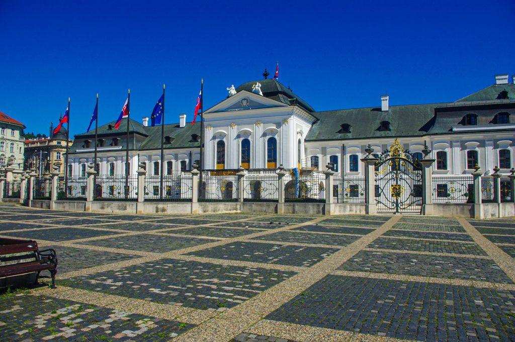 A pozsonyi Grassalkovich-kastély