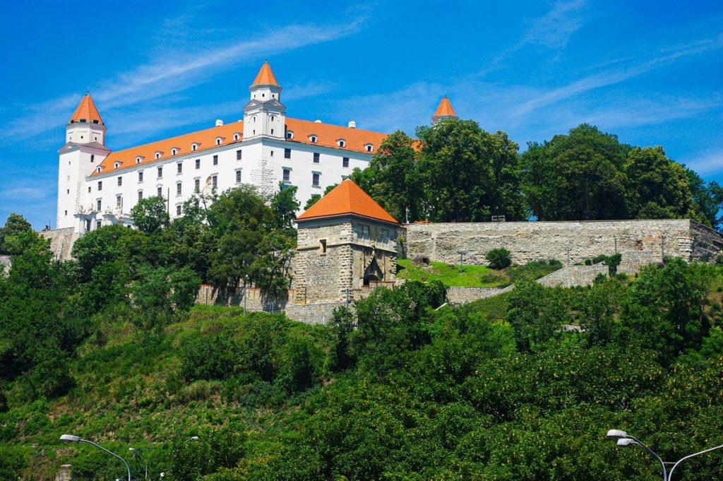 Pozsonyi vár látképe