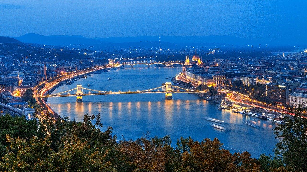 budapest éjszaka panoráma