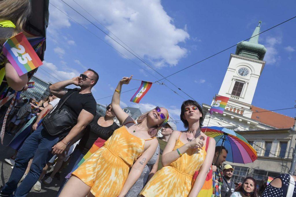 Budapest Pride 2021, fotó: MTI