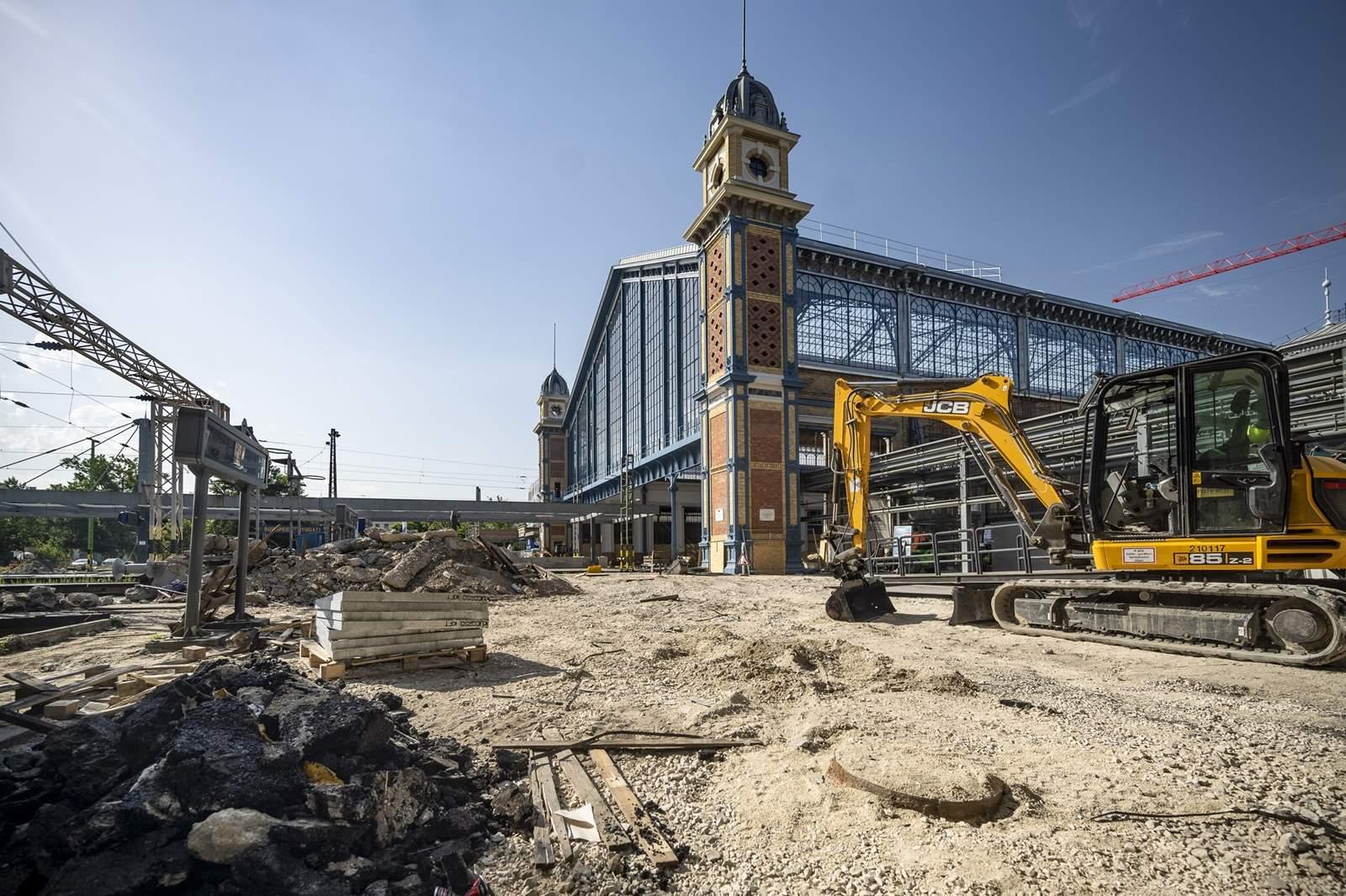 Nyugati pályaudvar felújítása
