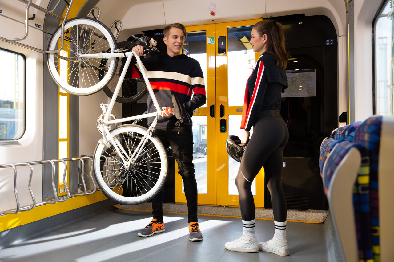 kerékpár vasút máv
