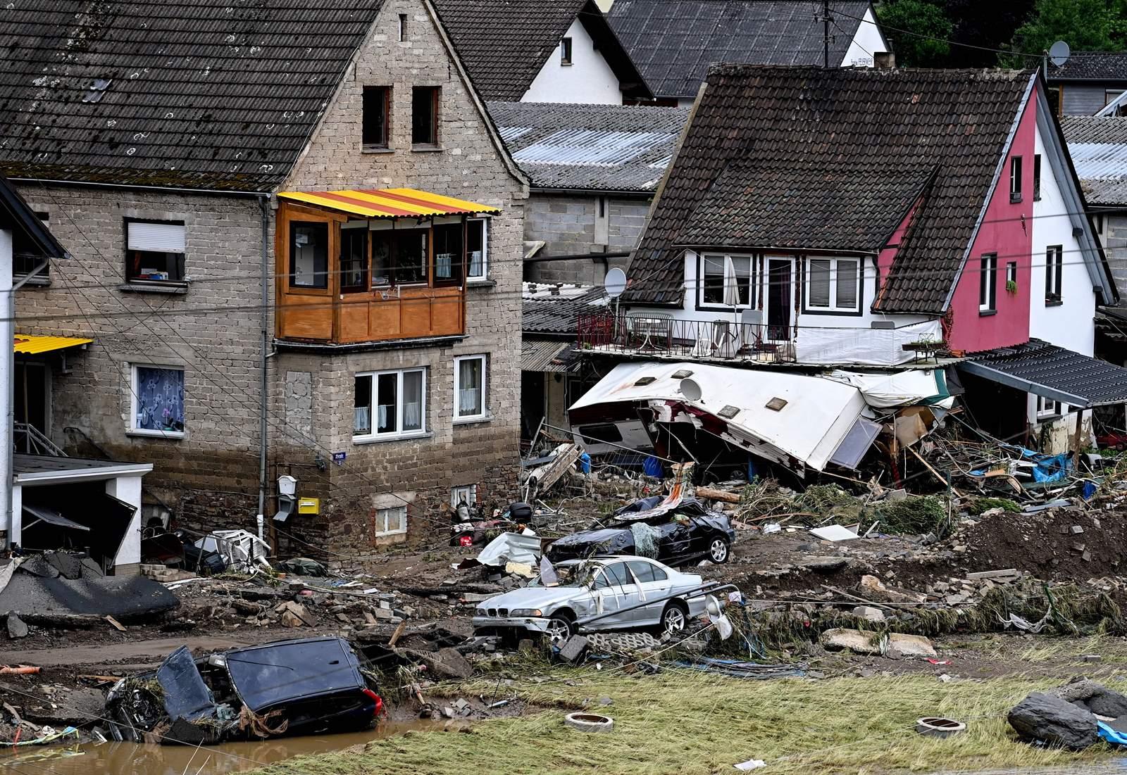 németországi árvíz
