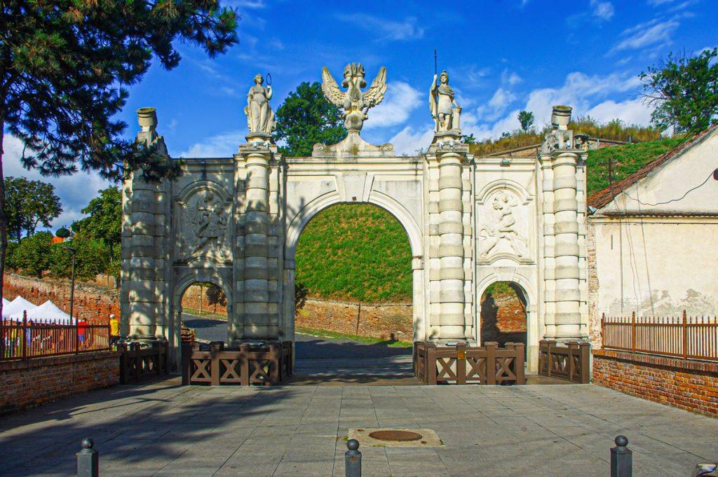 Az alsó Károly-kapu Gyulafehérváron