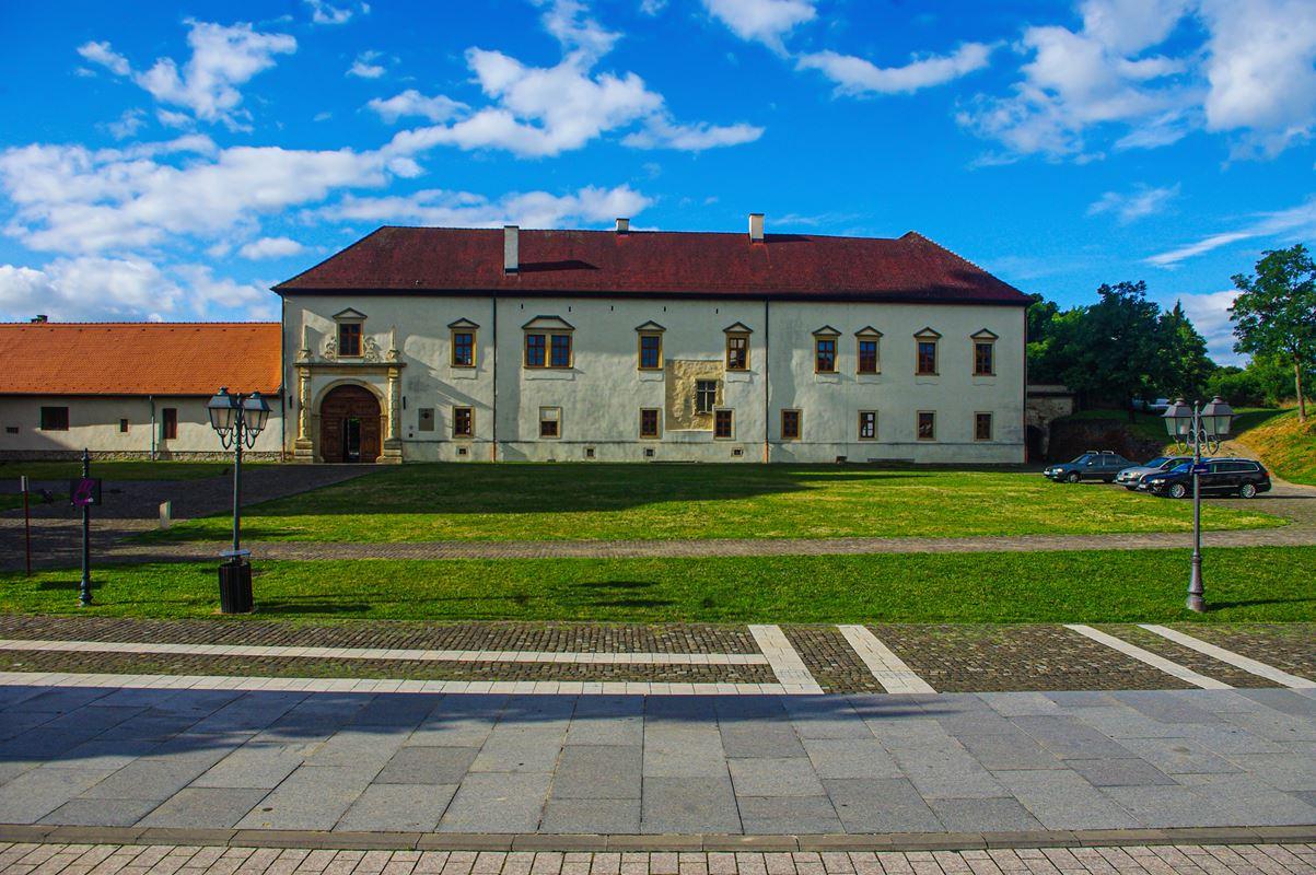 Az érseki palota Gyulafehérváron