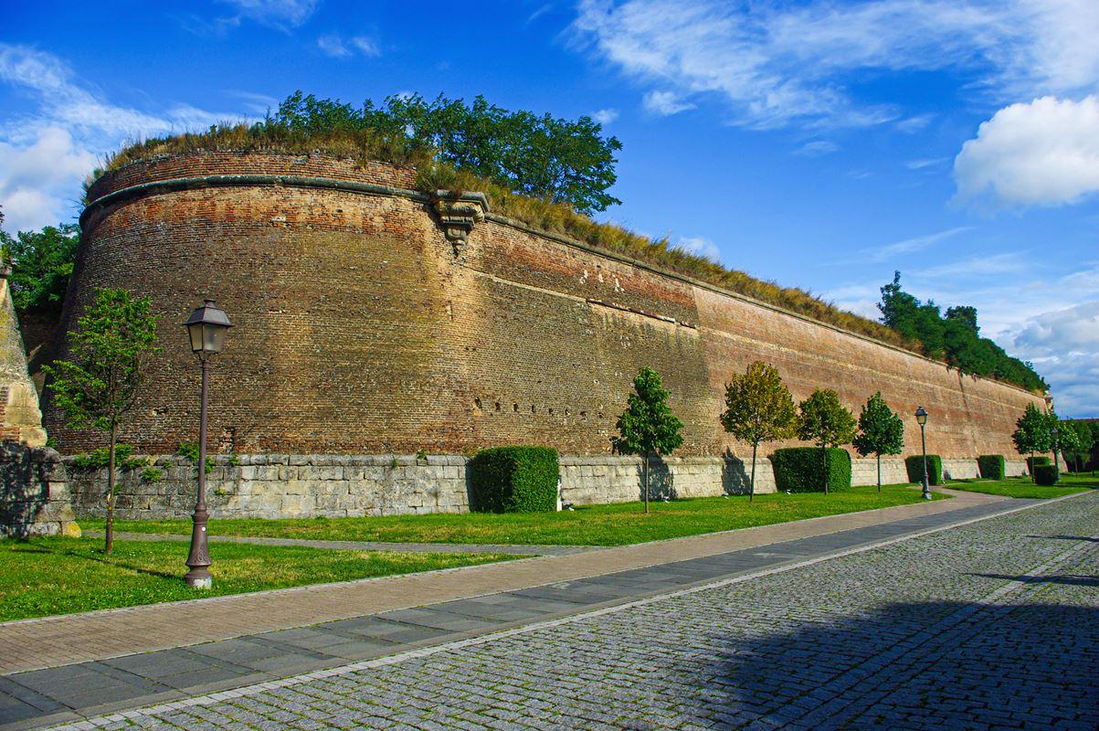 Erődítési részlet a gyulafehérvári várban