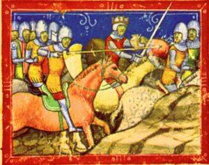 IV. Béla és II. Ottokár harca a Képes Krónikában (Wikipédia)