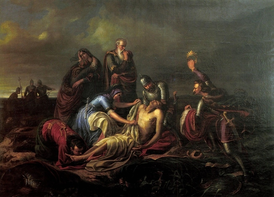 Orlai Petrich Soma II. Lajos holttestének megtalálása (Wikipédia)
