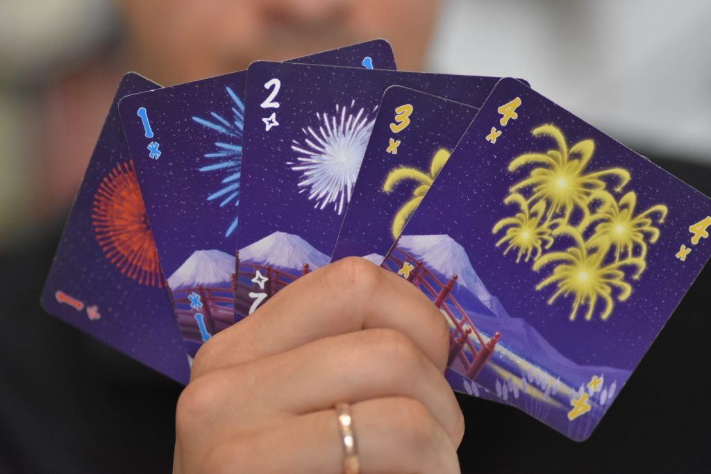 Hanabi kártyák