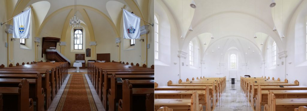 hernádkak református templom minimalista