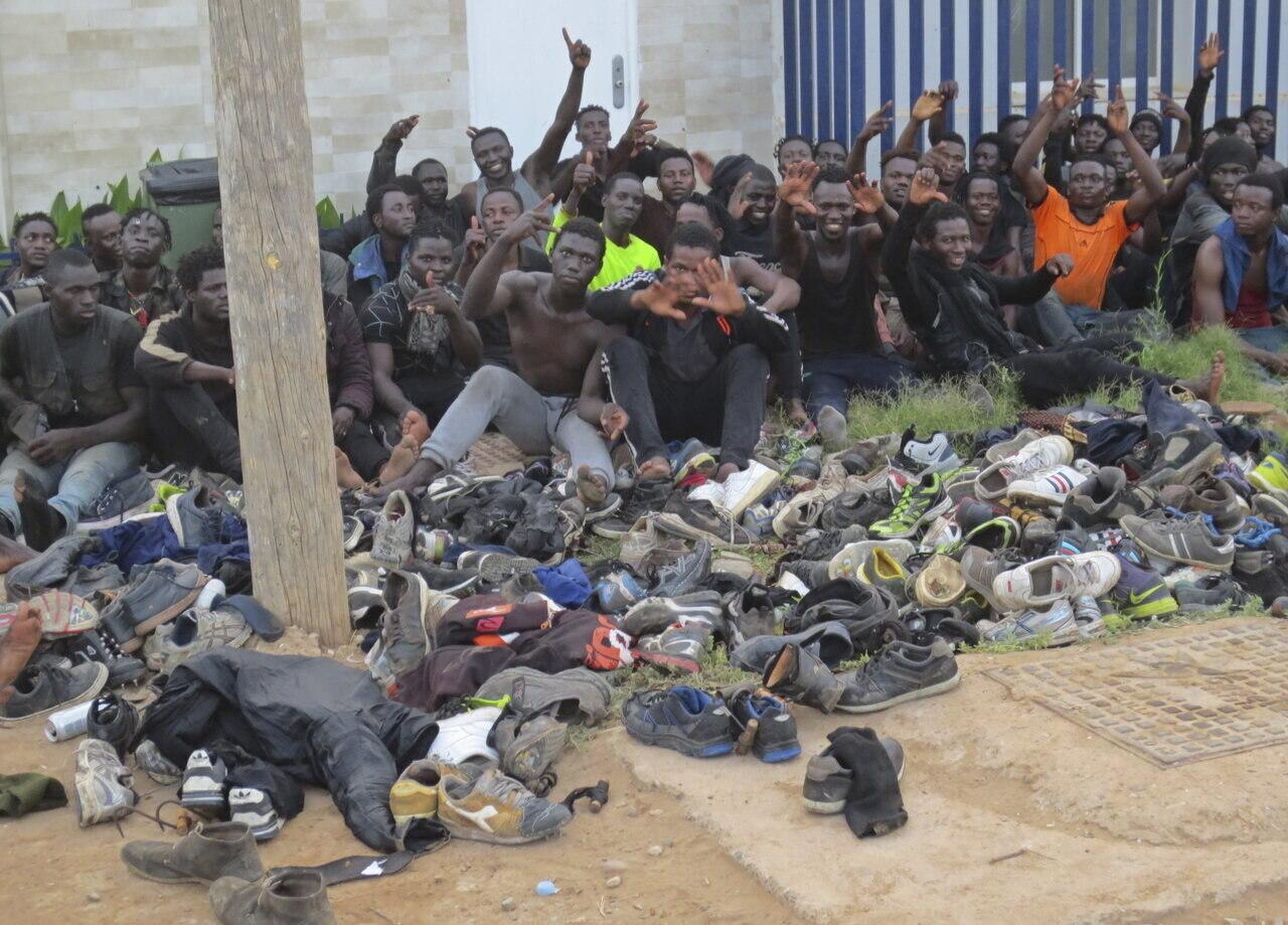 Illegális bevándorlás - Spanyolország