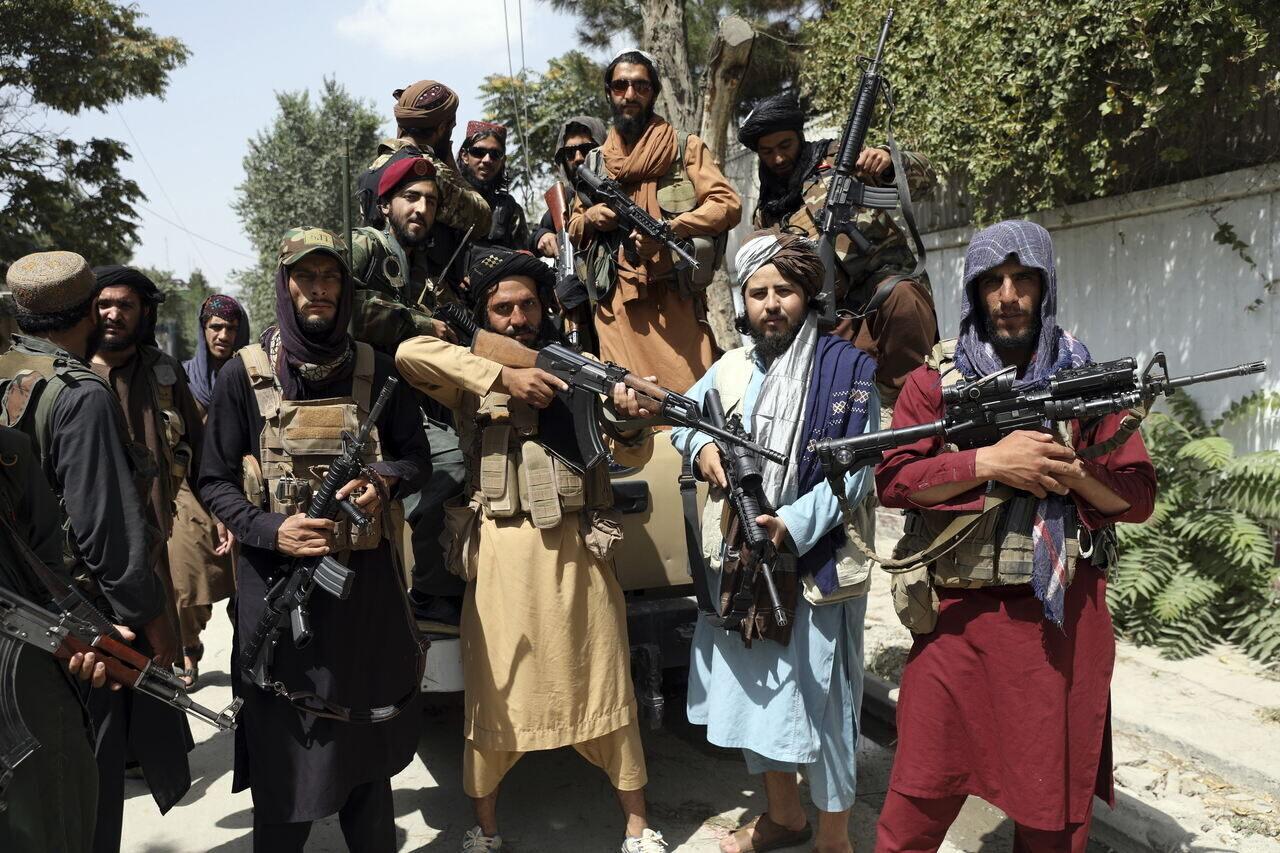 Afgán konfliktus tálibok