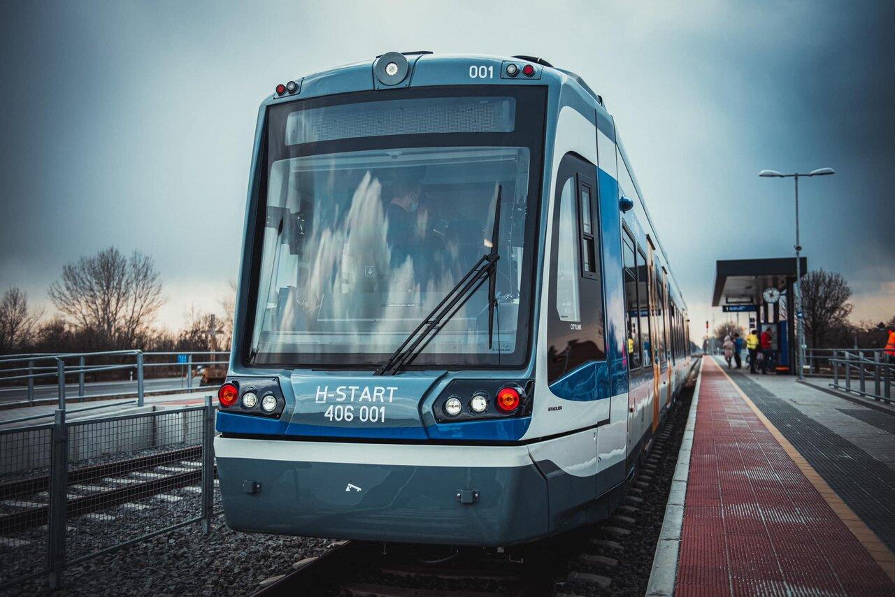 Tram train szerelvény