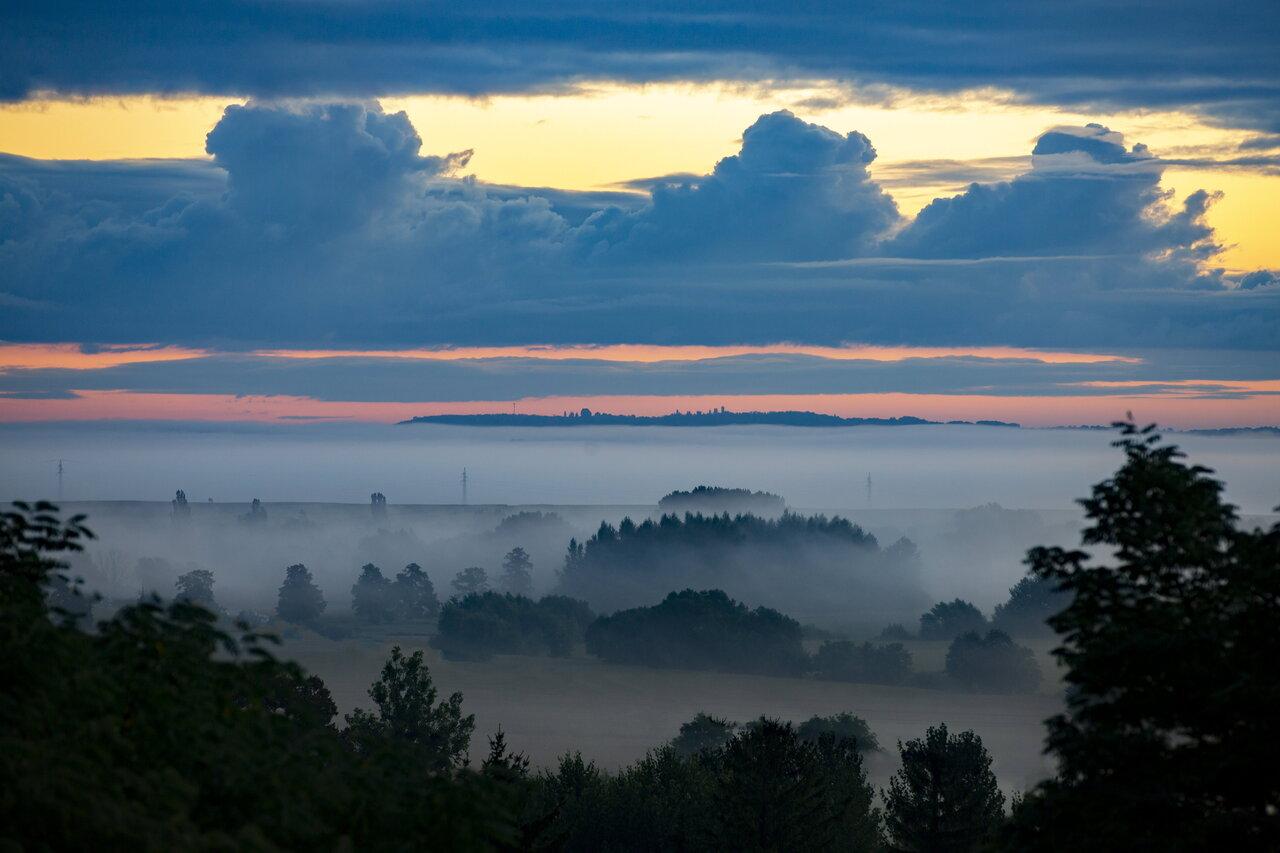 Köd a Principális-völgyben