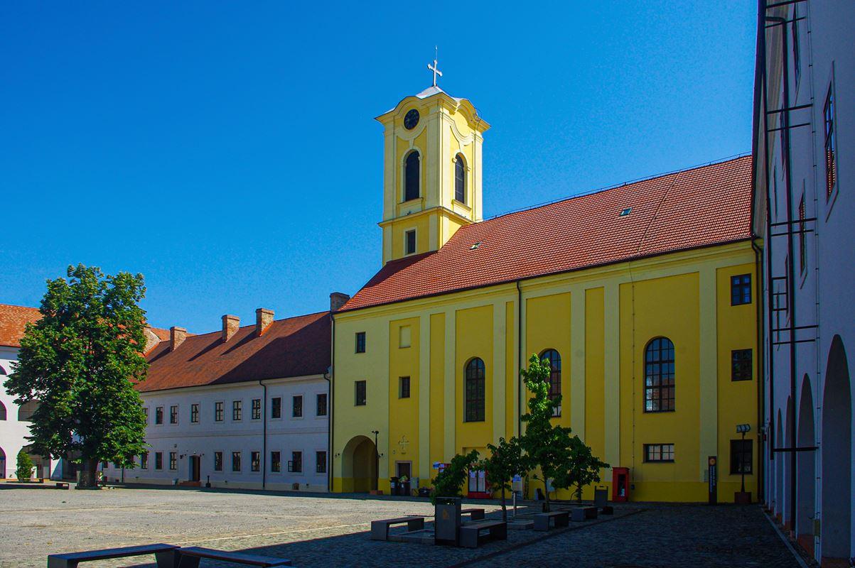 A belső vár udvara, Nagyvárad