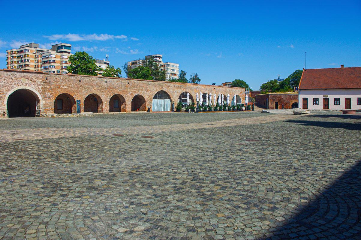 A nagyváradi vár nyugati kazamatája