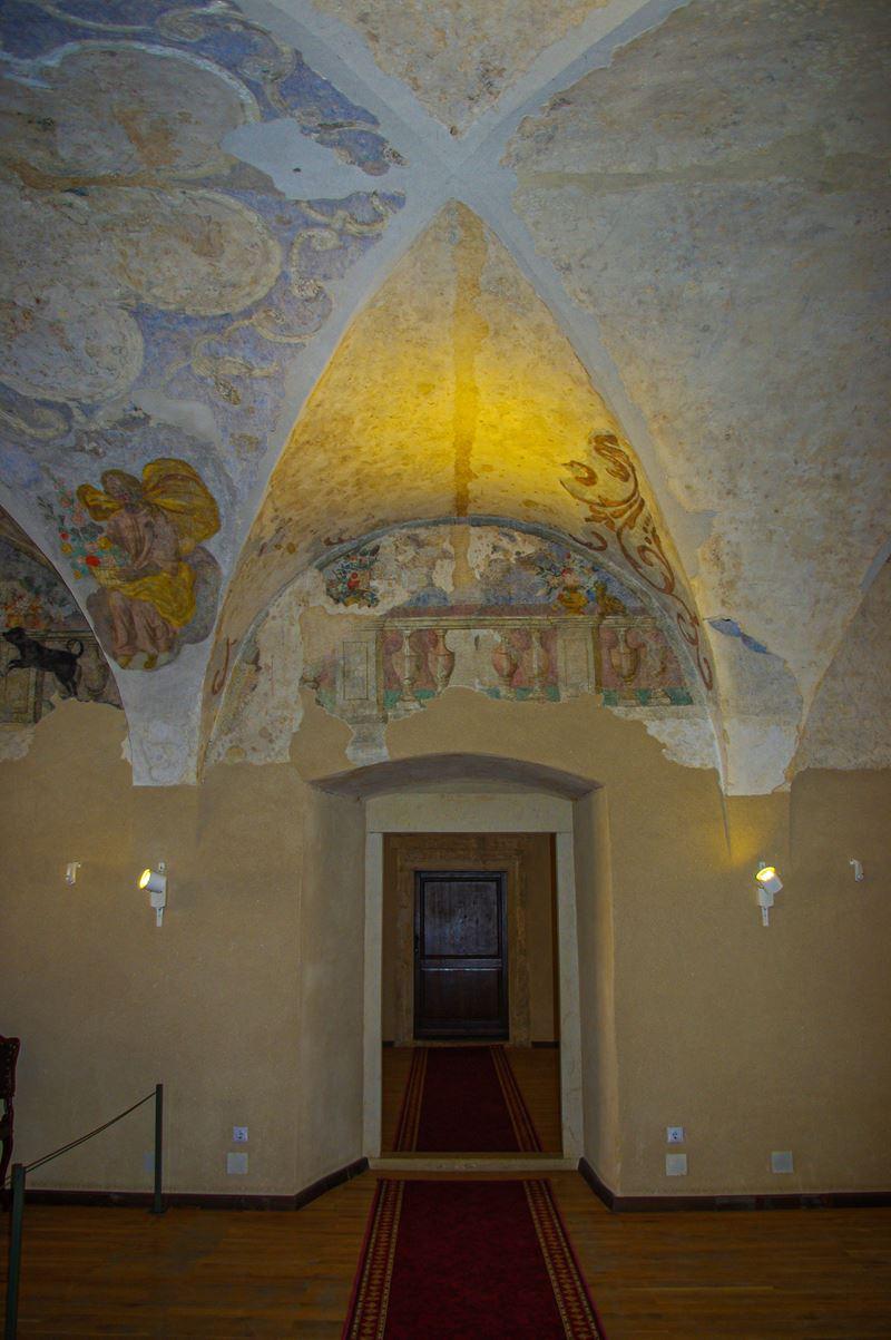 Részlet a fejedelmi palotából