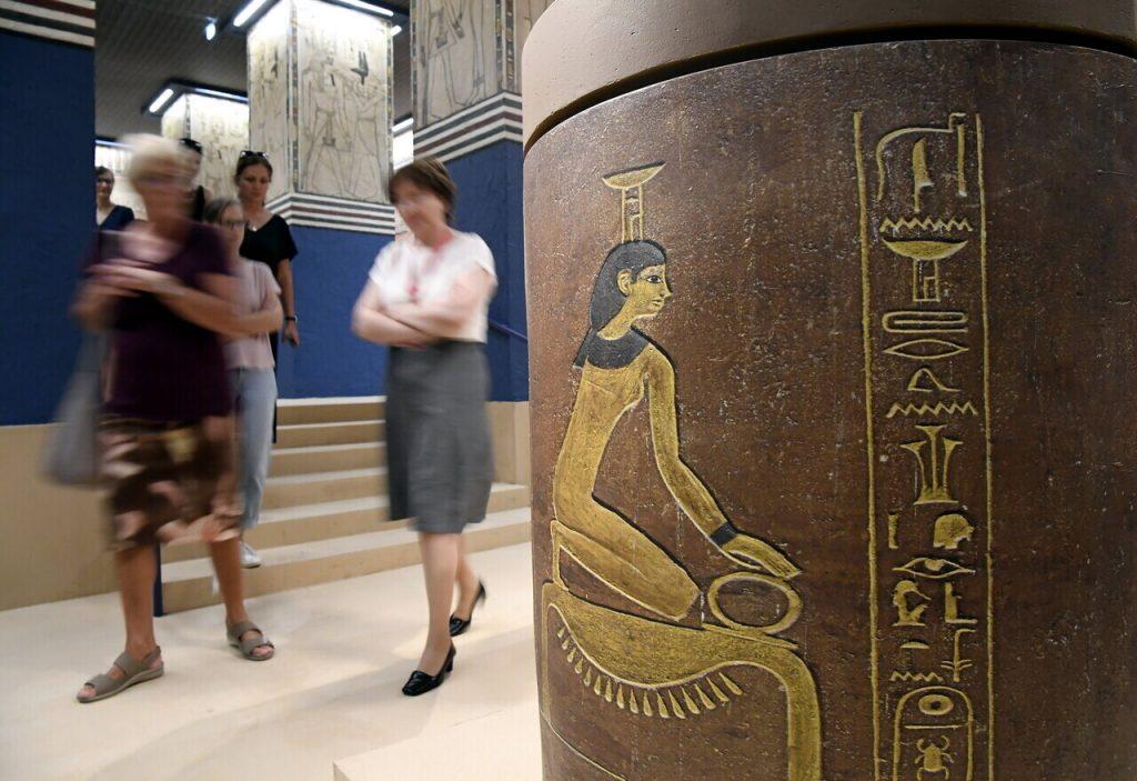 II. Amenhotep és kora - Megnyílt a Szépmûvészeti Múzeum ki