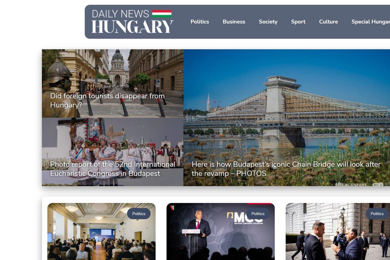 A megújult Daily News Hungary