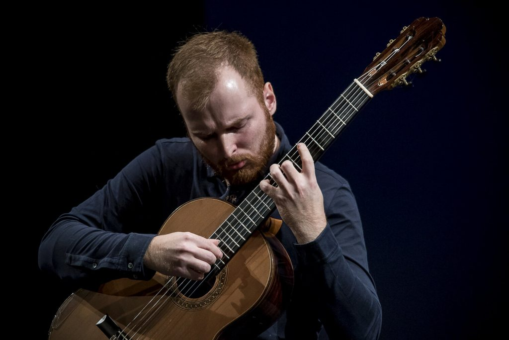 Marko Topcsij ukrán gitárművész