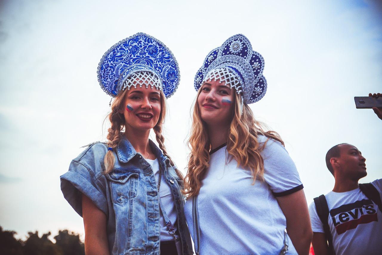 orosz lányok nők