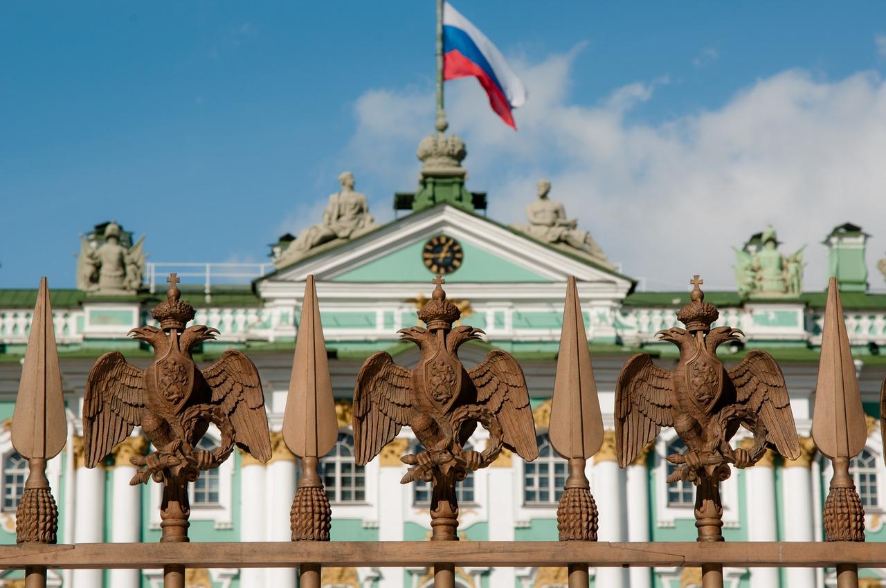 orosz zászló szentpétervár