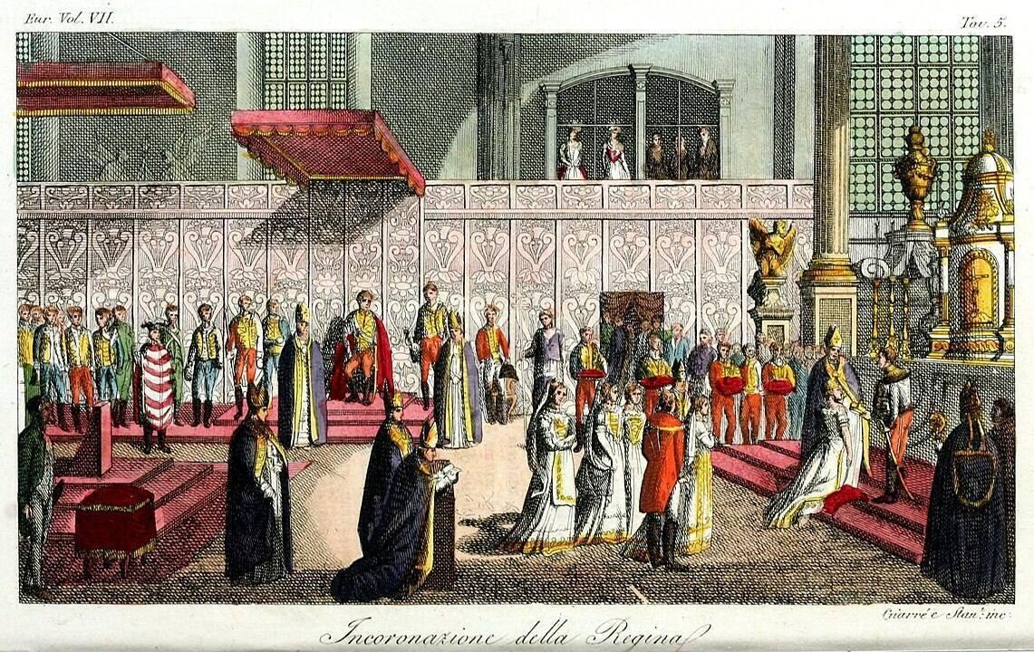 Anjou Mária megkoronázása (Wikipédia)