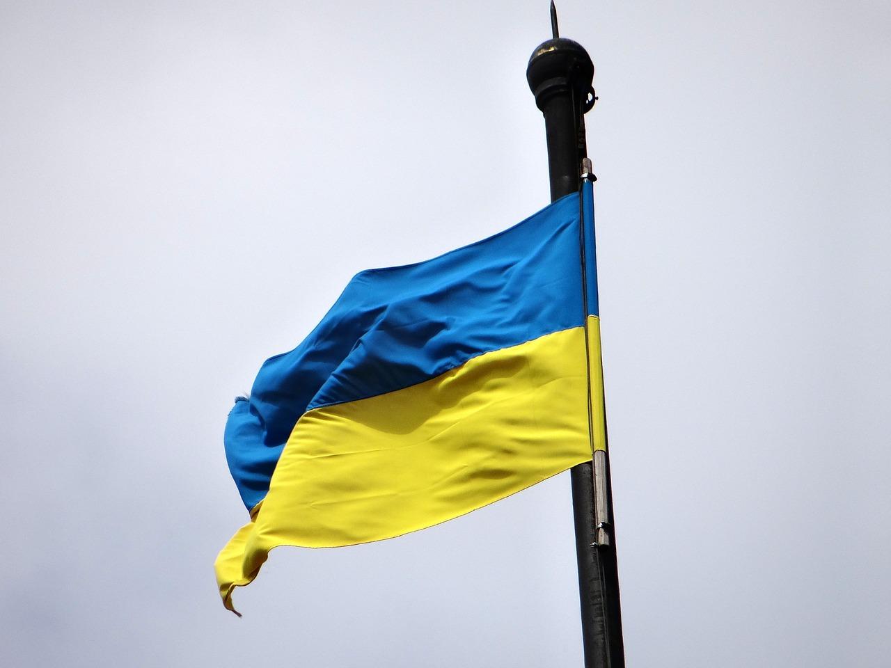 ukrán zászló ukrajna