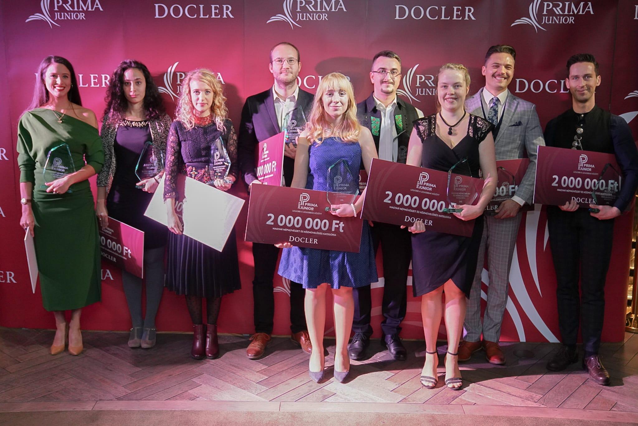 Junior Prima díj 2021.