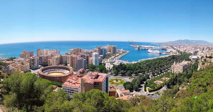 Málaga Mirador de Gibralfaro