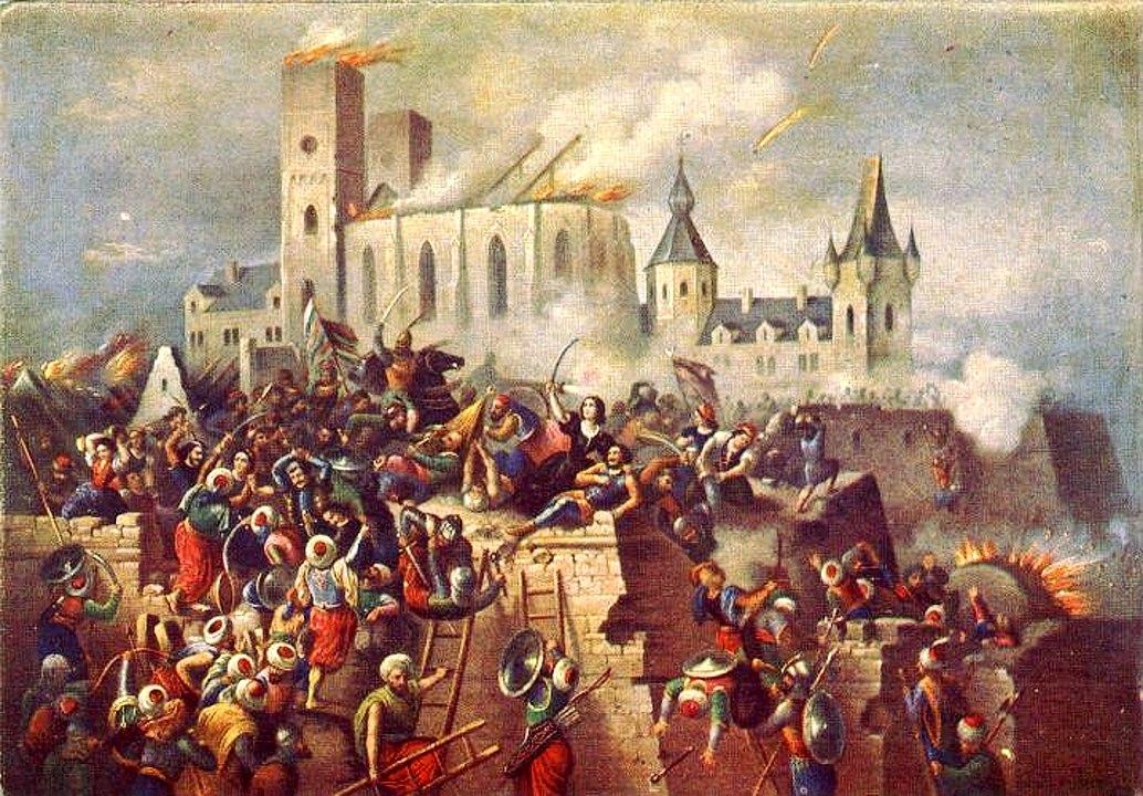 Vízkelety Béla - Eger ostroma 1552-ben (Wikipédia)
