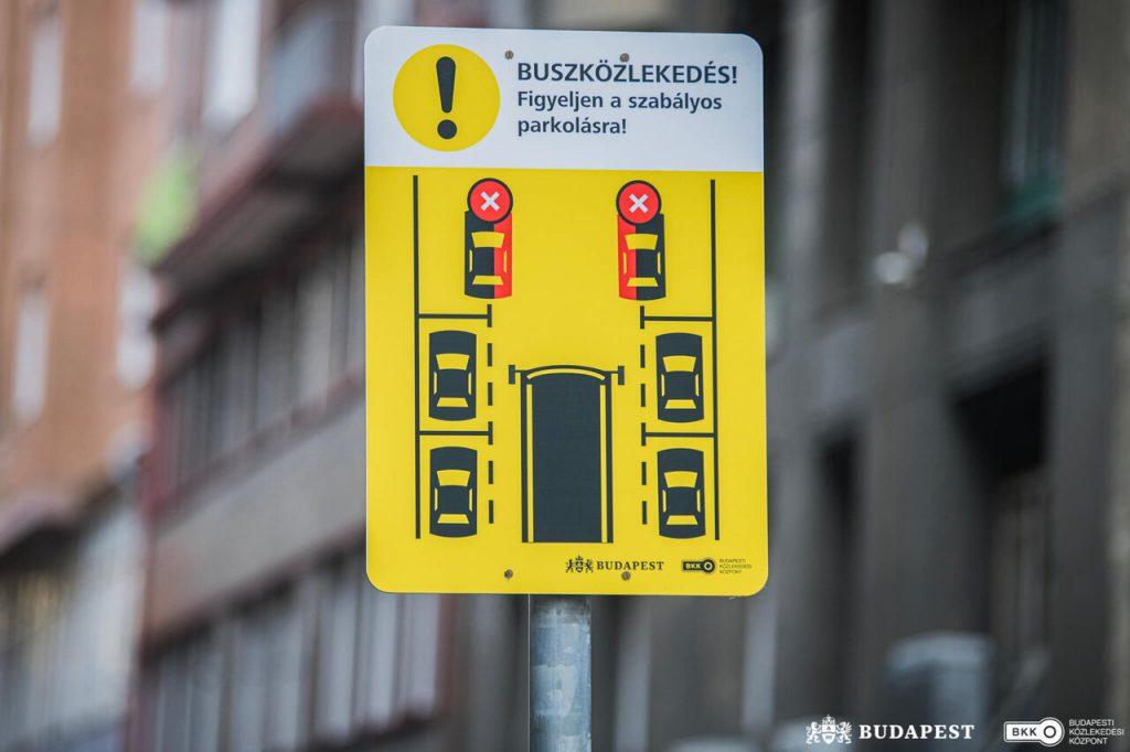 Parkolás, Budapest